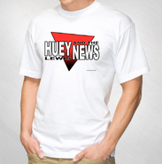 HLN - White With Red Logo Tee