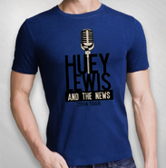 HLN - 2014 Royal Blue Mic Logo Tee