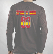 HLN - Grey '83 Sports Longsleeve