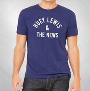 HLN - Blue Arch Logo Crew Neck Tee