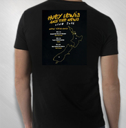 HLN - 2016 New Zealand Silhouette Tour Tee