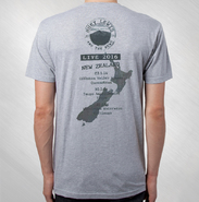HLN - 2016 New Zealand Golden Gate Stamp Tour Tee