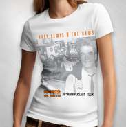 HLN - Women's White Sports 30th Ann. Album Tour Tee