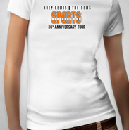 HLN - Women's Sports 30th Ann. Album Tour Tee - White