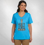 HLN - Women's Mic Logo V-neck