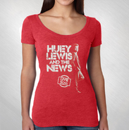 HLN - Women's Red Standing Photo Tee