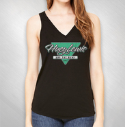 HLN -  Women's Black 2017 Triangle Tank