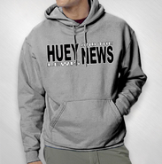HLN - Grey Hooded Sweat
