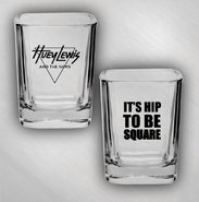 HLN - Hip To Be Square - Square Shot Glass