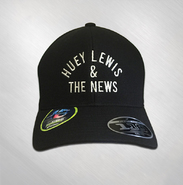HLN - Black Arch Logo Embroidered Baseball Hat