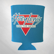 HLN - Neon Blue Not Here For A Long Time Koozie