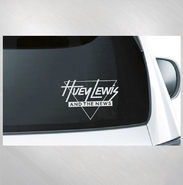 HLN -  Triangle Logo Window Decal