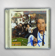 HLN - Sports / Live Sports - 2CD Set - SIGNED BY HUEY LEWIS