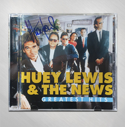 HLN - Greatest Hits CD - SIGNED BY HUEY LEWIS