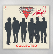 HLN -   Collected 3 Disc CD - SIGNED BY HUEY LEWIS