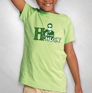 HLN -   Lime Green H Is For Huey Toddler Tee